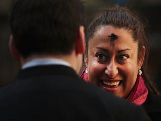 Ash Wednesday: What the forehead mark symbolizes