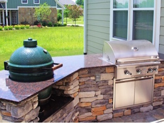 How much does an outdoor kitchen cost?