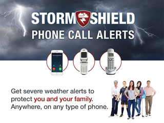 Storm Shield offers alerts to landline phones
