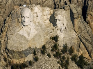 Fireworks likely source of Mount Rushmore water