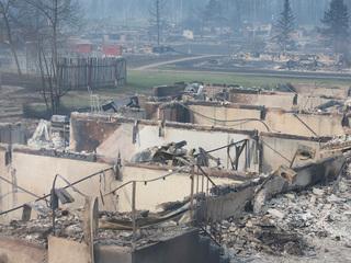 Gallery: Massive wildfire devastation in Canada