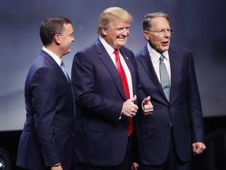 Donald Trump gets NRA endorsement