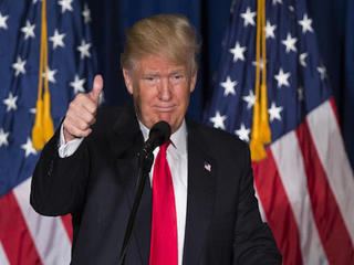 Over the top: Trump sews up delegates