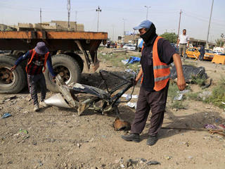 Separate deadly bomb attacks hit Iraq