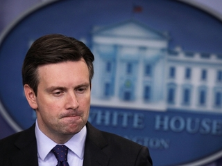 Press secretary calls Senate Republicans cowards