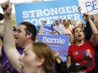Sanders calls for backers to vote for Clinton