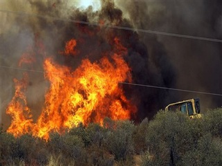 Wildfire: 200 homes in Calif. evacuated