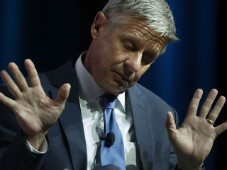 Gary Johnson has another 'Aleppo moment'