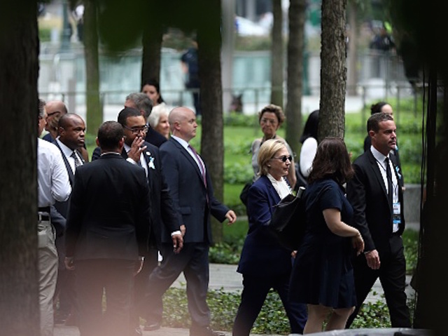 Hillary Clinton cancels California trip after pneumonia diagnosis, stumble at 9/11 ceremony