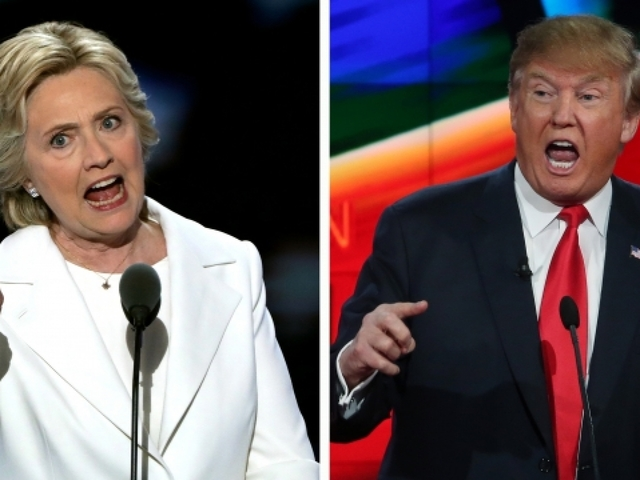 First Presidential Debate Between Donald Trump and Hillary Clinton