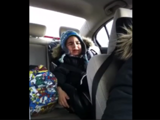 WATCH: 4-year-old's first heartbreak