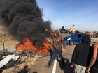 Oil pipeline protesters get evicted