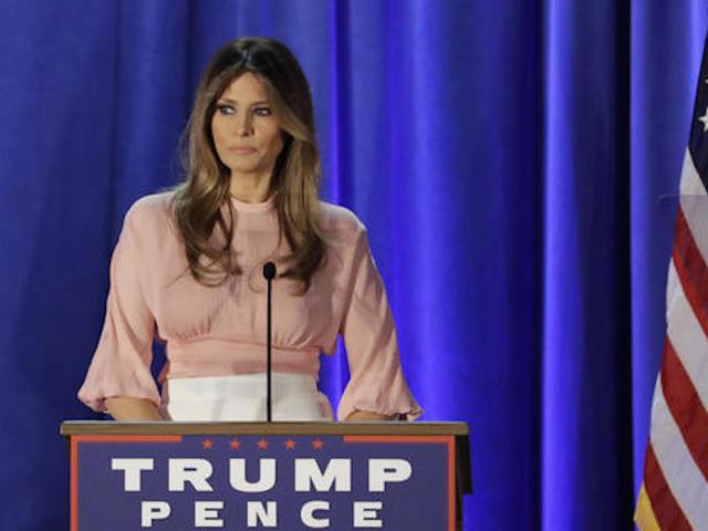 Melania says Trump would 'make America fair'