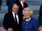 George H.W. Bush's condition improving