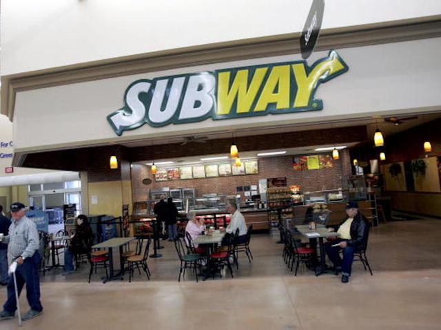 Subway chicken contains only 50 percent chicken