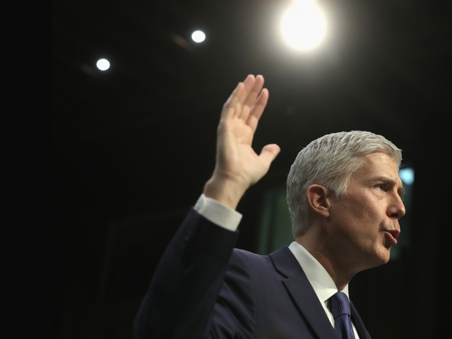 Gorsuch confirmed; Senate approves Trump nominee, 54-45