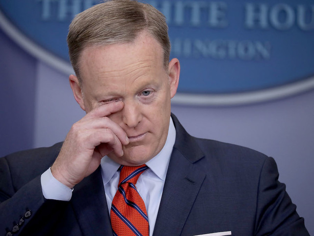 Sean Spicer addresses Bannon-Kushner feud: 'A lot of it is overblown'