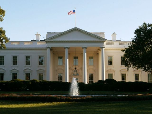 White House on lockdown for fence jumper