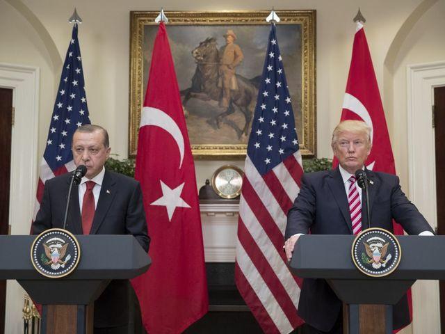 US State Department summons Turkish ambassador over violence outside Turkish mission