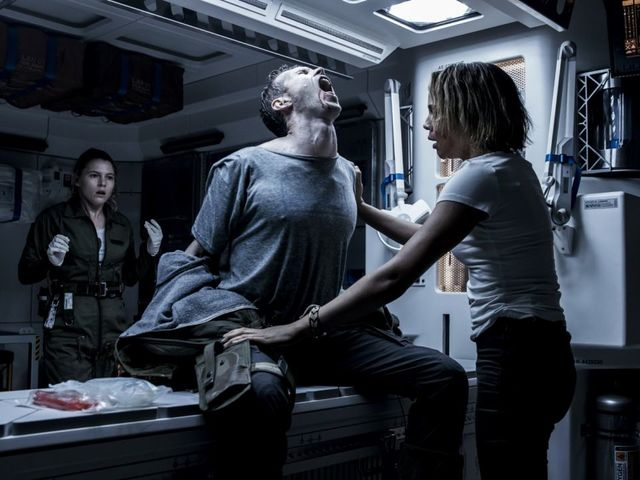 Alien Covenant: Dark and scary, our critic!
