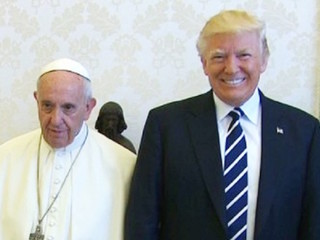 Trump meets pope after months of icy tweets