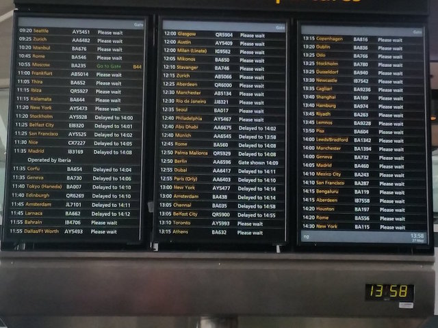 Global computer outage grounds all British Airways flights at Heathrow and Gatwick