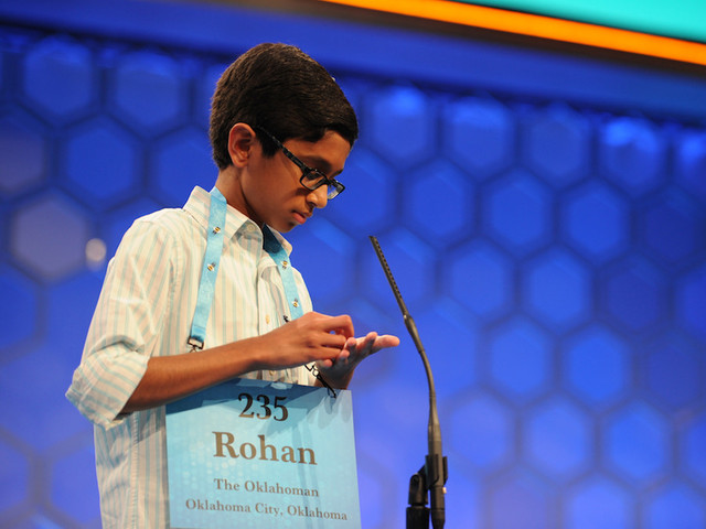 For First Time In 4 Years, Solo Speller Claims National Bee Crown