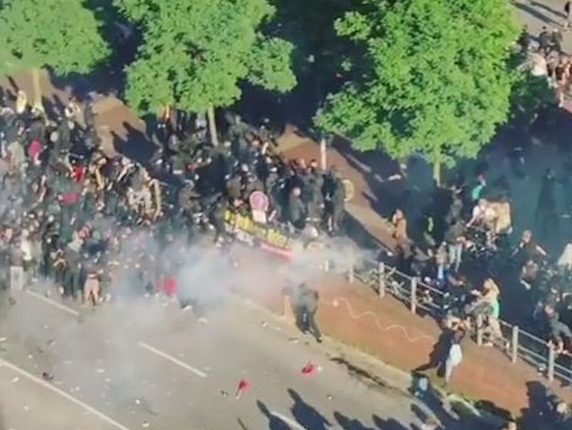 G20 protesters attempt to disrupt summit