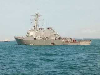 Some remains found on USS John McCain
