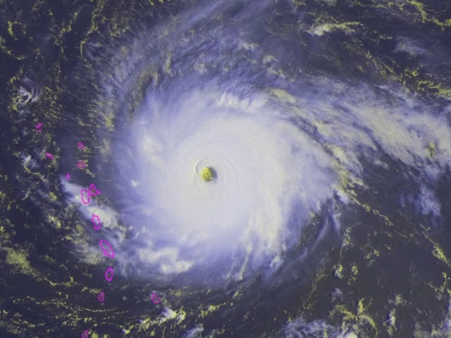 Is Irma really one of the strongest hurricanes ever?