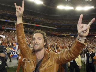 Matthew McConaughey surprises people with turkey