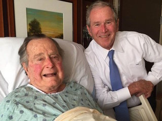 Spokesman: George HW Bush hospitalized