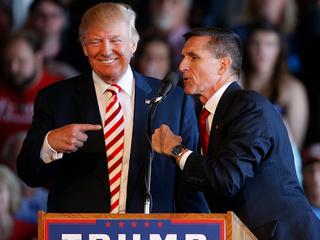 Trump on a Flynn pardon: 'Let's see'