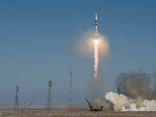 3 more astronauts en route to ISS