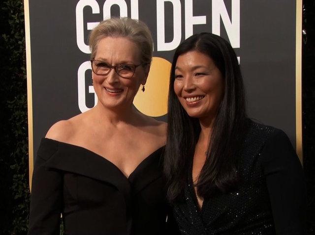Meryl Streep Brings Activist Ai-jen Poo to Golden Globes 2018!