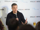 Matt Damon vows to 'close my mouth for a while'