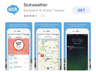This app says it can help you stay flu-free