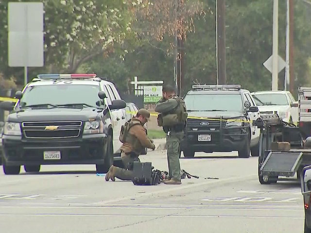 California police officer killed, another wounded in shooting at apartment complex
