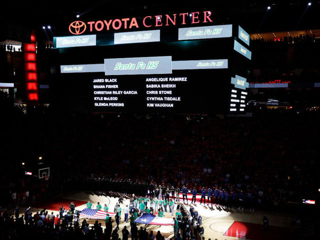 Houston Rockets Welcome Survivors Of Mass Shooting To