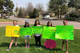 Third graders launch lemonade stand for school