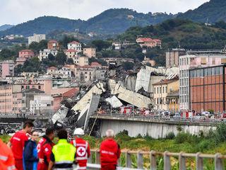 Photos: The Morandi Bridge collapse in Italy