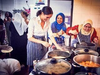 Duchess Meghan Markle champions charity cookbook