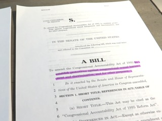 #MeToo: Push for bill protecting Hill workers